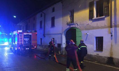 Incendio a Brignano   Brucia una cucina, pompieri al lavoro  FOTO