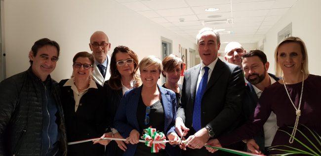 Ospedale Romano, inaugurato il nuovo reparto sub-acuti FOTO