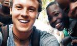Michele Anghileri, un anno da solo in Malawi