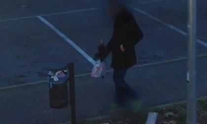 Abbandona i rifiuti nel cestino pubblico, beccato dalla fototrappola