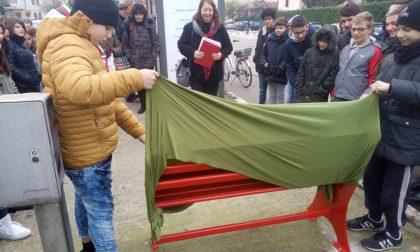 Inaugurata panchina rossa FOTO
