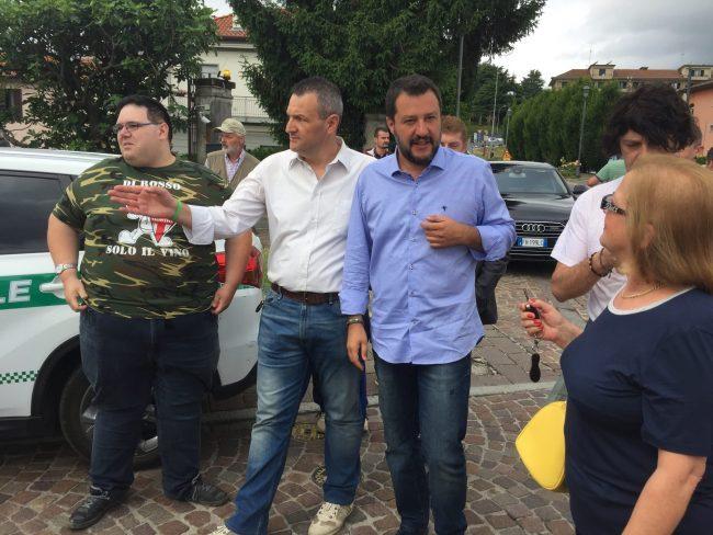 Raduno della Lega, Salvini: