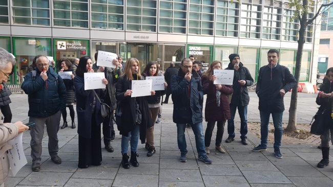 pendolari romanesi in protesta