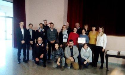 Il Comune premia i suoi volontari (per la prima volta) – FOTO