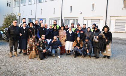 Moto Befana benefica a Rivolta con il moto club di Pandino FOTO