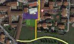 Rivoluzione viabilità a Boltiere, giù un vecchio edificio per la ciclopedonale