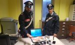 Hashish e cocaina arrestato pusher 35enne