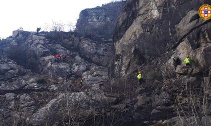 Codice rosso per gli incendi, salvi due arrampicatori sorpresi dalle fiamme