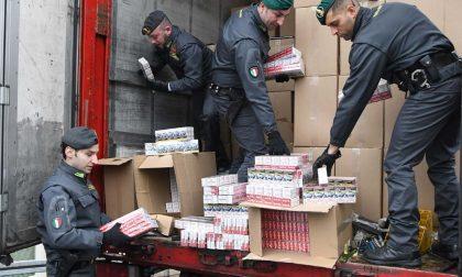 Finanza di Treviglio sequestra tre tonnellate di sigarette di contrabbando