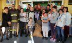 Pompieri in pediatria per rallegrare l'Epifania dei bambini