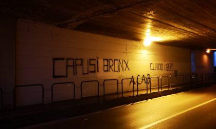 «Capusì bronx», è caccia a i vandali