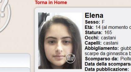 Sparita nel nulla: si cerca Elena, 14 anni