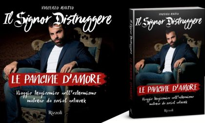 """Il Signor Distruggere a Brignano per presentare """"Le pancine d'amore"""""""