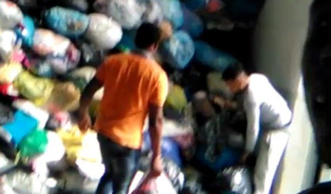 Caporalato, 3 euro l&#8217&#x3B;ora per raccogliere abiti usati: 10 indagati VIDEO
