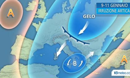 Ancora freddo artico e neve (ma solo al Sud) PREVISIONI METEO