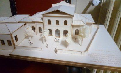Ecco il modellino del Municipio