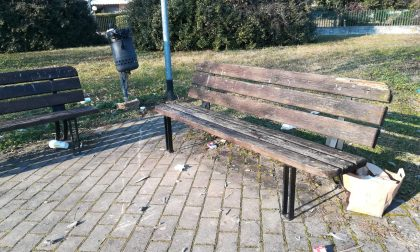 Geromina, nel parco sporcizia, schiamazzi e vandalismi