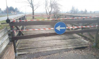 Ponte fuori uso sulla ciclabile: pericolosa per pedoni e ciclisti