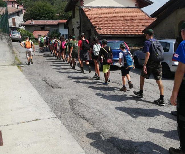 Campo alpino per i ragazzi e aiutarli a scoprire i valori civili e di gruppo
