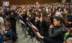 L'orchestra giovanile in udienza dal Papa, che chiede il bis FOTO