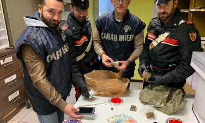 Droga, maxi operazione dei carabinieri: due arresti