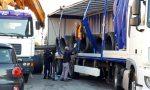 Camion perde il carico: ripristinata la circolazione sulla linea ferroviaria Lecco – Bergamo – Brescia FOTO e VIDEO