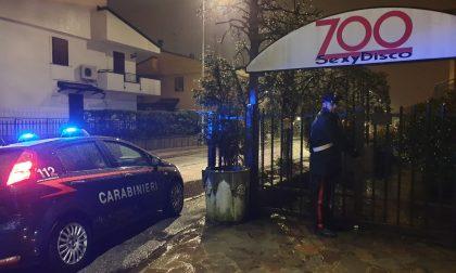 Night Club chiuso per scarsa sicurezza