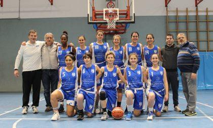 La Polisportiva Cappuccinese in testa al basket promozione femminile