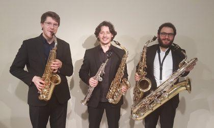 L'ultimo dei Pomeriggi musicali con il  Vagues Saxophone Trio