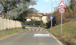 Arrivate le multe per i dossi di via Brembate a Canonica