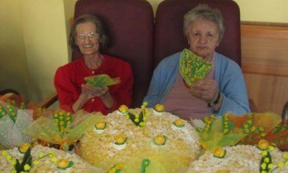 Festa della donna, anche alla Rsa di Pandino mimose e allegria