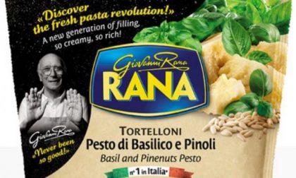 Etichetta in italiano ritirati in Germania i tortelloni di Giovanni Rana