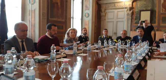 Salvini a Bergamo: &#8220&#x3B;Zingonia è un modello: da degrado a buon governo&#8221&#x3B; VIDEO