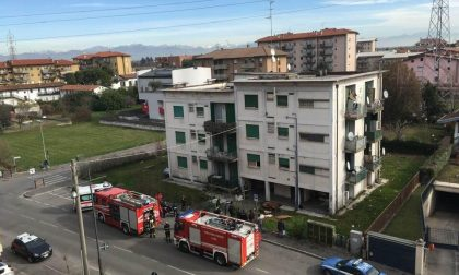 Ex Snam Treviglio ancora in fiamme, c'è un ferito