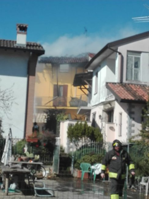 incendio a mozzanica
