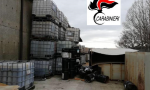 Maxi sequestro di rifiuti pericolosi in un'azienda dismessa di Fornovo VIDEO FOTO