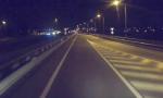 Pedone investito su un'autostrada lombarda VIDEO SHOCK