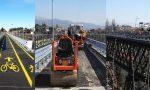 Venerdì il ponte di Paderno riapre a pedoni e bici… ma mancano le navette