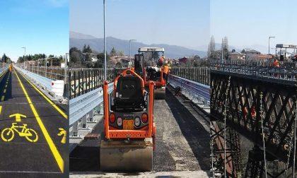 Venerdì il ponte di Paderno riapre a pedoni e bici... ma mancano le navette