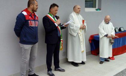 Inaugurati i nuovi spogliatoi del centro sportivo di Vailate