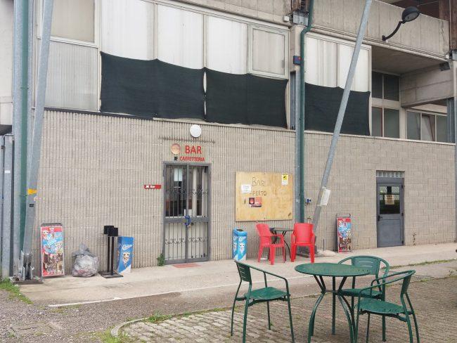 Bando deserto per il bar del centro sportivo, tutto da rifare