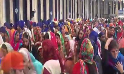 Sikh in festa per l'Holla Mohalla  FOTO