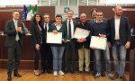 I ragazzi del bus sequestrato a Peschiera premiati in Consiglio regionale