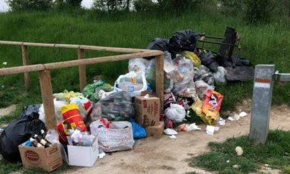 Un monumento di rifiuti alla desolazione