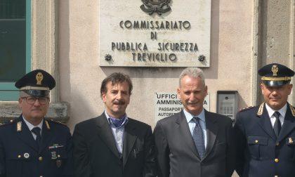 Questore di Bergamo in visita alle strutture della città di Treviglio FOTO