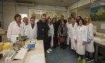 Il ministro Gian Marco Centinaio in visita all'Istituto Spallanzani di Rivolta