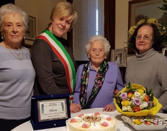 Un&#8217&#x3B;altra centenaria a Pandino: è Maria Trabattoni