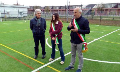 Nuovi impianti sportivi: inaugurati i due campi FOTO