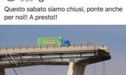 Birrificio Adda fa un post con il Ponte Morandi: pioggia di critiche e pagina Facebook rimossa