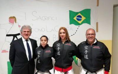 Sonia e Bassmala volano in Brasile per conorare il loro sogno iridato